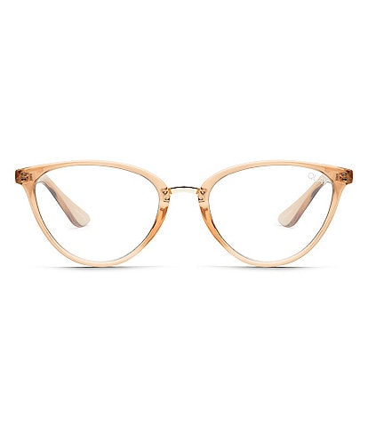 Quay Australia Rumours Blue Light Cat Eye Glasses