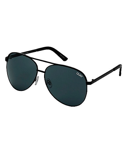 ca515d1e0e Quay Australia Vivienne Over-sized Aviator Sunglasses
