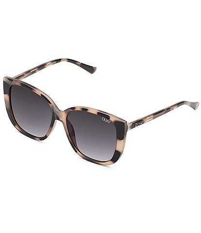 Quay Ever After Oversized Rounded Square Sunglasses