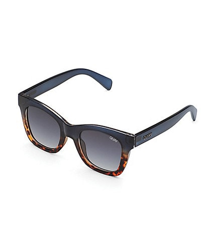 Quay #QuayXCHRISSY Oversized Square Tortoise After Hours Sunglasses