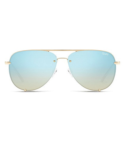 Quay #QUAYXDESI High Key Rimless Sunglasses