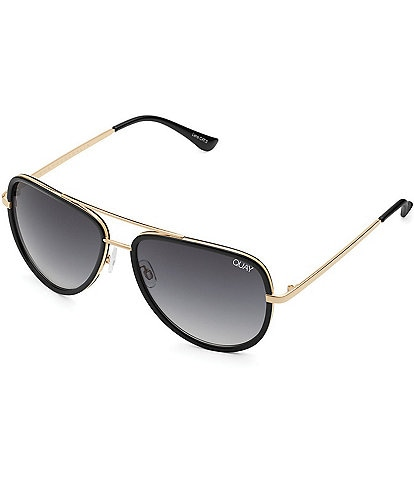 Quay Australia All In Mini Aviator Sunglasses