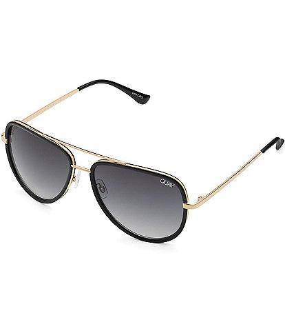 Quay Australia #QUAYXJLO All In Mini Aviator Sunglasses