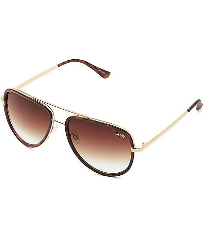 Quay Australia #QUAYXJLO All In Mini Aviator Sunglasses