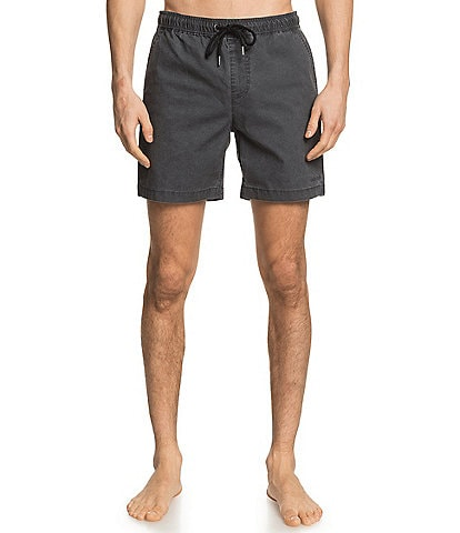 Quiksilver 17#double; Outseam Taxer Eastic Waist Walkshort