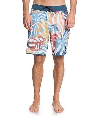 Quiksilver 19#double; Outseam Highline Vacancy Scallop REPREVE® Recycled Materials Board Shorts