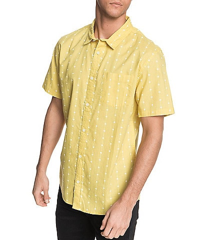 Quiksilver Barbed Short-Sleeve Shirt
