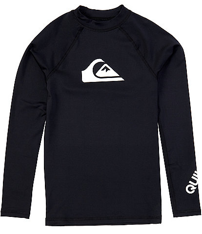Quiksilver Big Boys 8-16 Long-Sleeve All Time Rashguard Tee