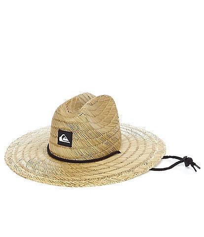 Quiksilver Big Boys 8-16 Pierside Straw Lifeguard Hat
