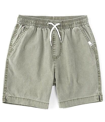 Quiksilver Big Boys 8-20 Taxer Acid-Wash Shorts