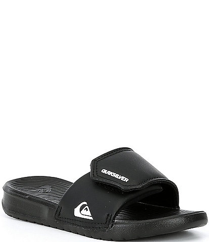 Quiksilver Boy's Bright Coast Adjust Slides Youth