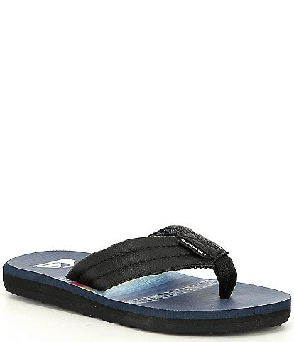 Quiksilver Boys' Carver Print Flip Flops (Youth)