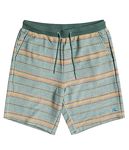 Quiksilver Great Otway Striped 19#double; Outseam Shorts