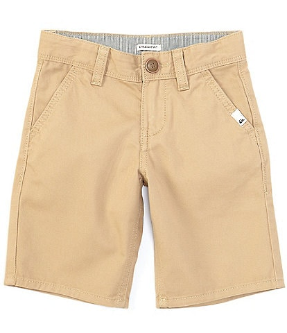 Quiksilver Little Boys 2T-7 Everyday Chino Straight-Fit Shorts