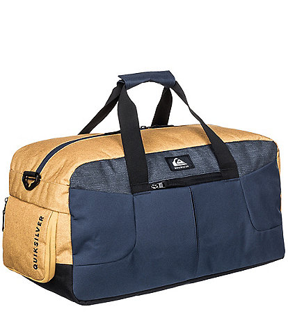 Quiksilver Medium Shelter II Honey Heather Duffel Bag