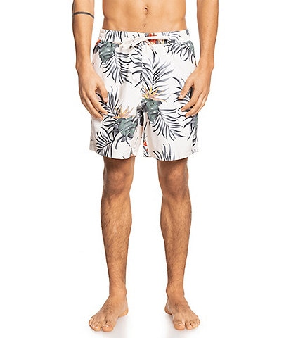 Quiksilver Paradise Express 17#double; Outseam Volley Shorts