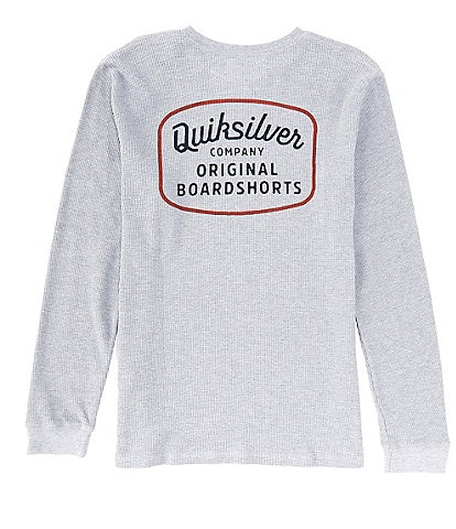 Quiksilver Rear View Long-Sleeve Thermal Pullover