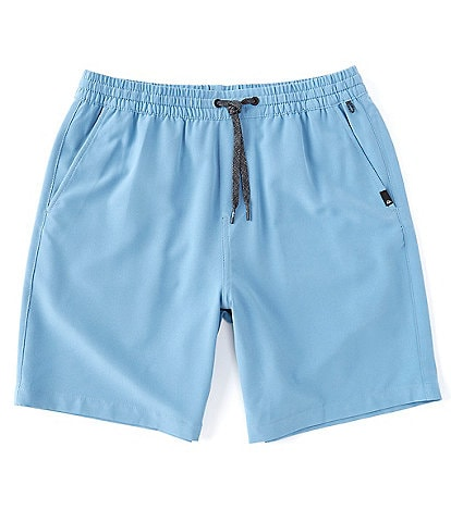 Quiksilver Union Elastic Amphibian Hybrid 18#double; Outseam Shorts