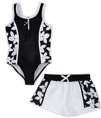 Raisins Big Girls 7-16 Cocoa Beach Point Dume Two-Piece Swimsuit