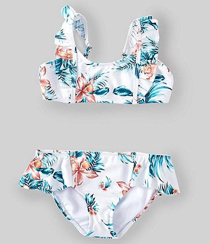 Raisins Big Girls 7-16 Hula Gurl La Sirena Two-Piece Swimsuit