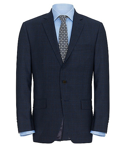 Ralph By Ralph Lauren Classic Fit Navy Plaid Sportcoat