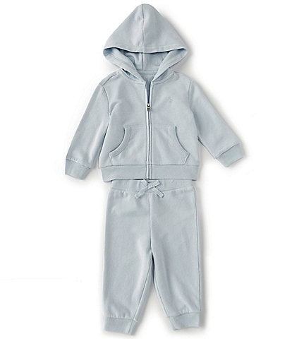 Ralph Lauren Baby Boys 3-24 Months Athletic Terry Fleece Hoodie & Pant Set