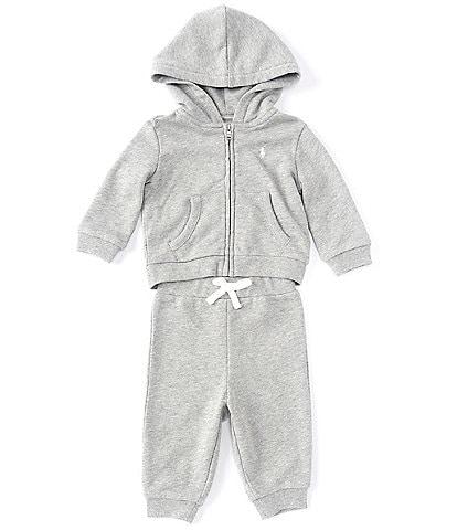 Ralph Lauren Baby Boys 3-24 Months Athletic Terry Fleece Hoodie & Pant Set
