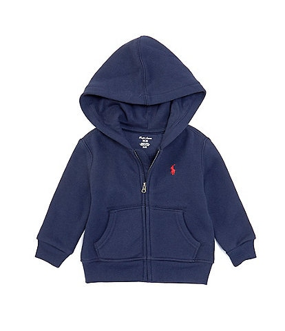 Ralph Lauren Baby Boys 3-24 Months Fleece Full Zip Hoodie