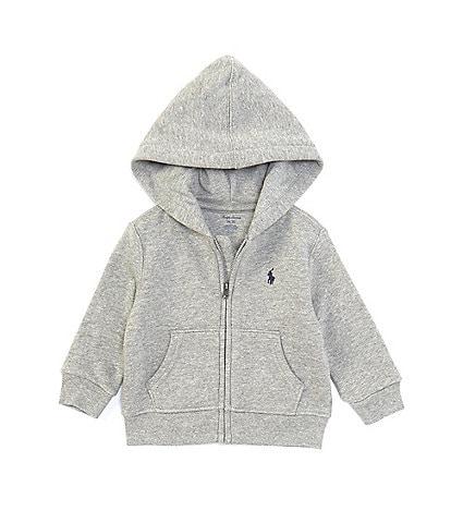 Ralph Lauren Baby Boys 3-24 Months Fleece Full Zip Hoodie