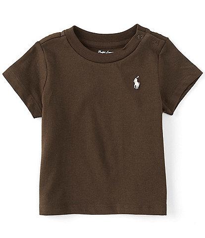 Ralph Lauren Baby Boys 3-24 Months Short-Sleeve Collegiate Essential Tee
