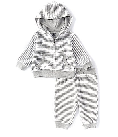 Ralph Lauren Baby Boys 3-24 Months Stripe Velour Hoodie & Pants Set