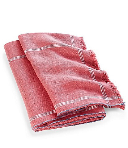 Ralph Lauren Belle Point Collection Camelia Throw Blanket