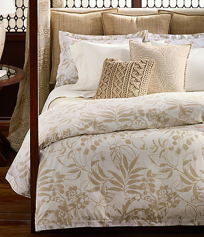 Ralph Lauren Cecily Collection Palmetto Sateen Comforter