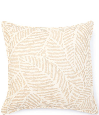 Ralph Lauren Cecily Collection Valerio Embroidered Linen Pillow