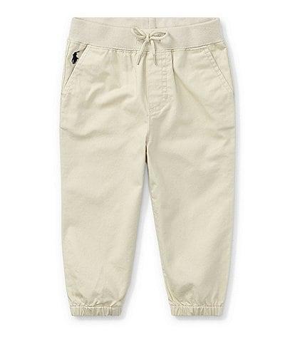 Ralph Lauren Childrenswear Baby Boys 3-24 Months Twill Jogger Pull-On Pants
