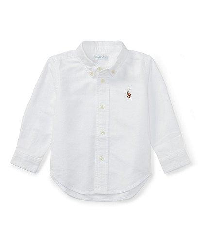 Ralph Lauren Childrenswear Baby Boys 3-24 Months Long-Sleeve Oxford Shirt