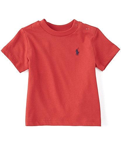 Ralph Lauren Childrenswear Baby Boys 3-24 Months Short-Sleeve Basic Jersey Tee