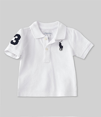 Ralph Lauren Childrenswear Baby Boys 3-24 Months Short-Sleeve Big Pony Polo Shirt