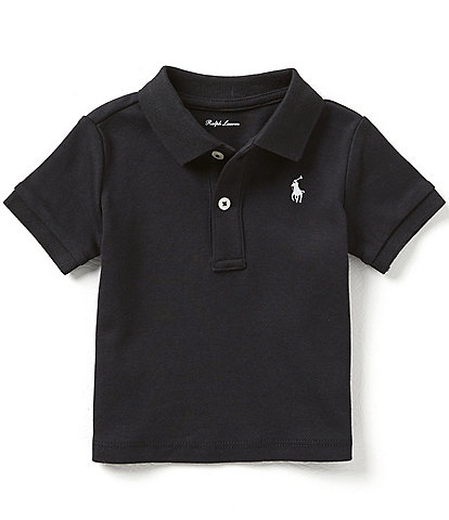Ralph Lauren Childrenswear Baby Boys 3-24 Months Short-Sleeve Interlock Polo Shirt