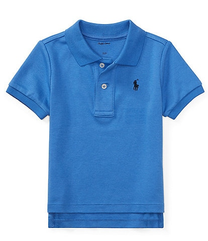 Ralph Lauren Childrenswear Baby Boys 3-24 Months Interlock Polo Shirt