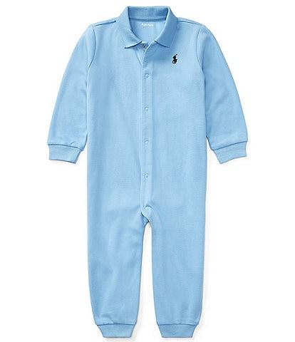 Ralph Lauren Childrenswear Baby Boys Newborn-12 Months Classic Coverall