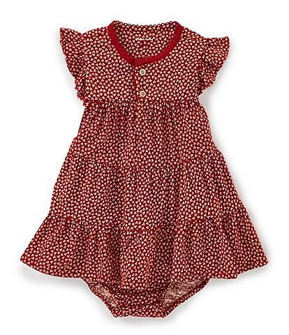 1bcdb4255 Ralph Lauren Childrenswear Baby Girls 3-24 Months Flutter-Sleeve  Floral-Print A