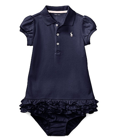 52b1596d6 Ralph Lauren Childrenswear Baby Girls 3-24 Months Polo Cupcake Dress