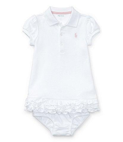 Ralph Lauren Childrenswear Baby Girls 3-24 Months Polo Cupcake Dress