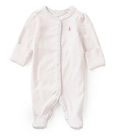 Ralph Lauren Childrenswear Baby Girls Newborn Coverall & Cap Layette Collection