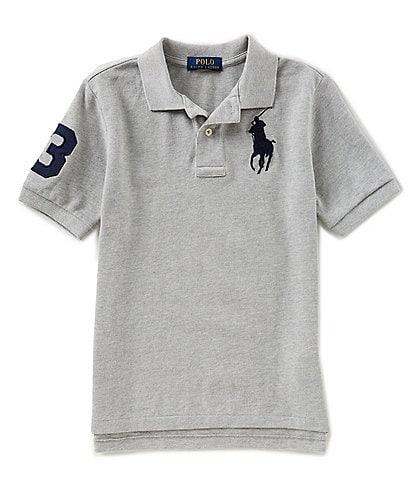 Ralph Lauren Childrenswear Big Boys 8-20 Basic Mesh Big Pony Player Polo Shirt