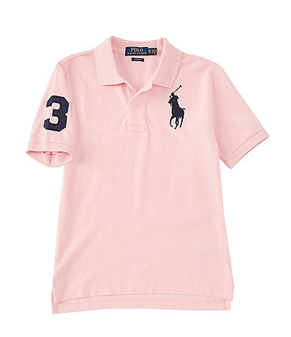 Polo Ralph Lauren Childrenswear Big Boys 8-20 Basic Mesh Big Pony Player Polo Shirt