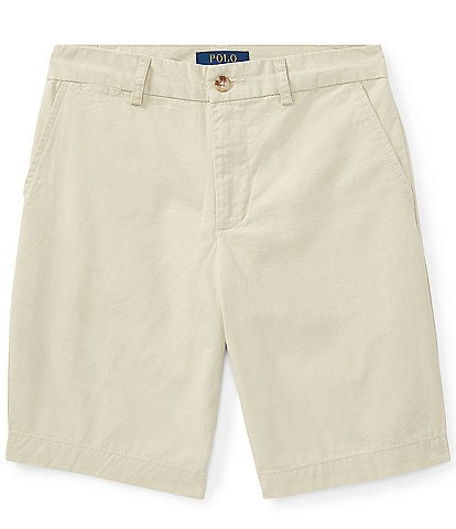 Ralph Lauren Childrenswear Big Boys 8-20 Chino Flat Front Shorts