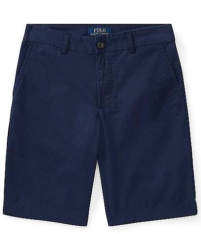 Ralph Lauren Childrenswear Big Boys 8-20 Chino Flat Front Shorts