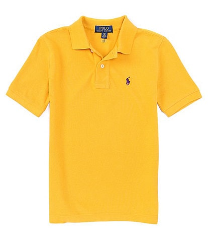 Polo Ralph Lauren Childrenswear Big Boys 8-20 Collegiate Short-Sleeve Mesh Polo Shirt
